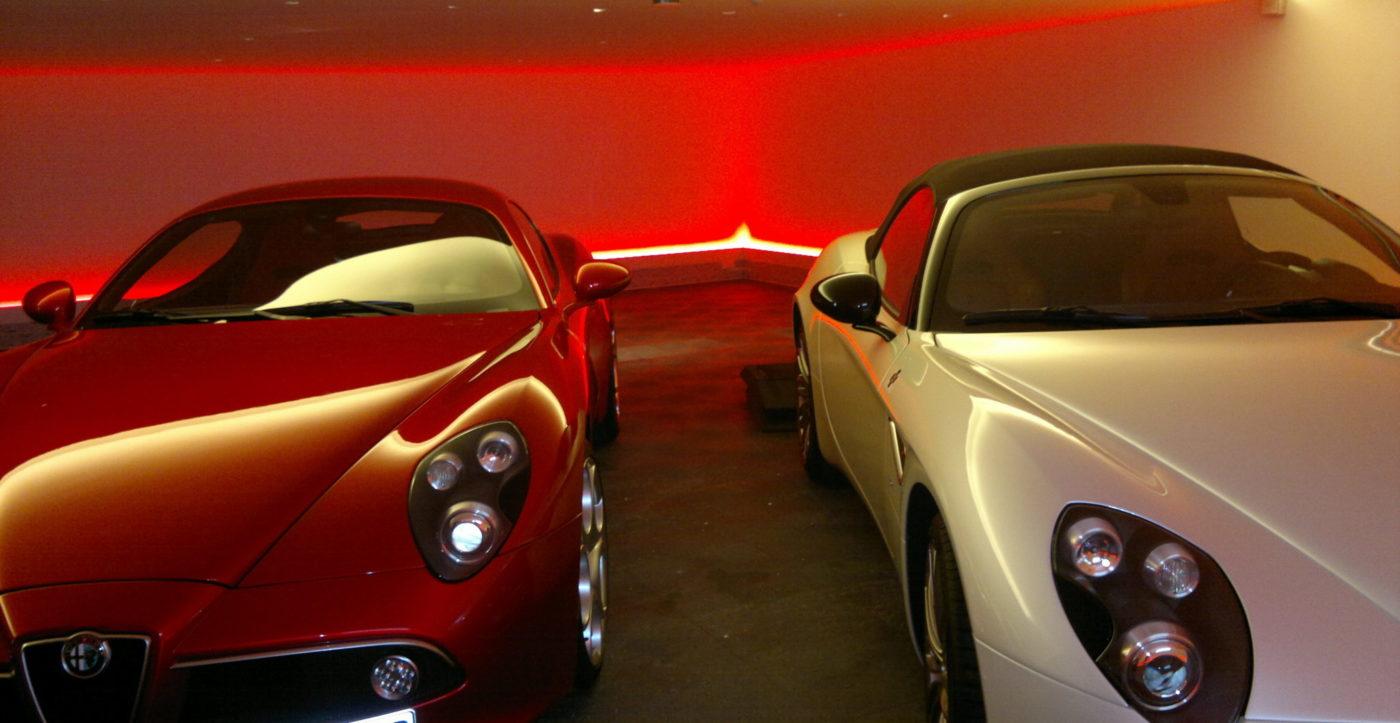 rgb-bodenlicht Autohaus