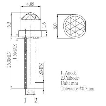 Diamant LED Zeichnung